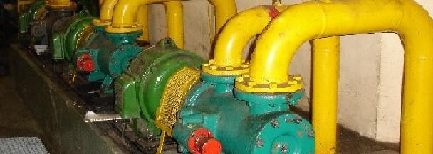 Groupe moto pompe pour régulation sur barrage