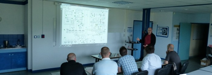 Cours de formation d'hydrauliciens
