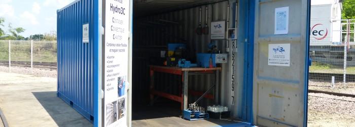 Dépannage composants hydrauliques et pneumatiques sur site