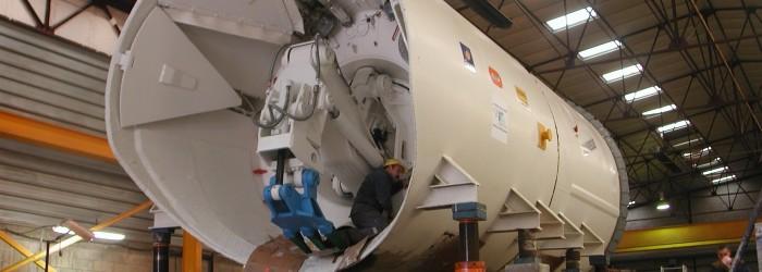 Fabrication de tunnelier