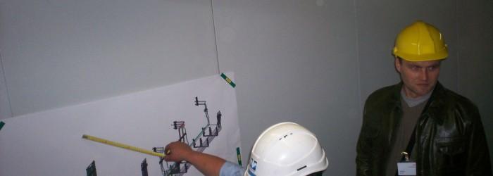 Chantier de tuyauterie industrielle