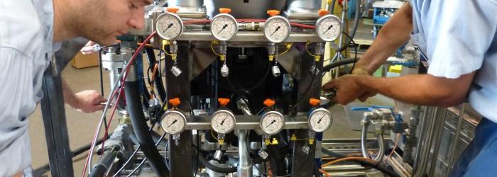Réglages et tests de puissance hydraulique