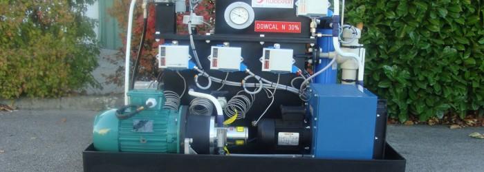 centrale hydraulique pour degrilleur