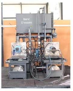 banc d'essais hydraulique