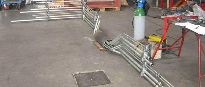 fabrication tuyauterie atelier